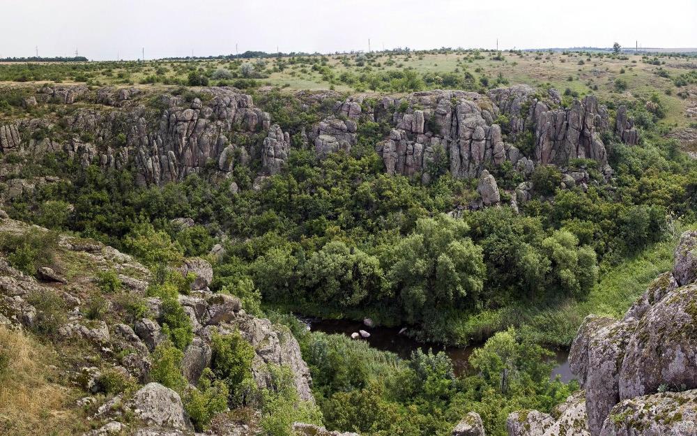 актовский каньон украина