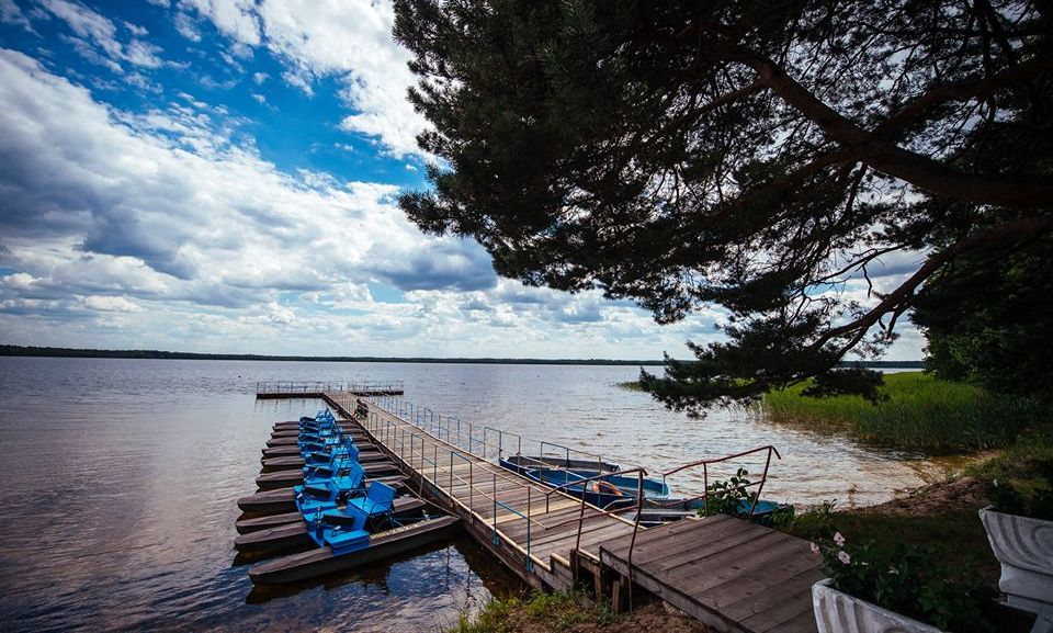Белое озеро, с.Рудка